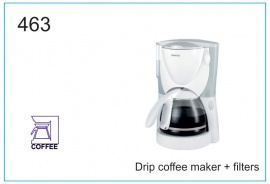 Drip coffee maker + filters