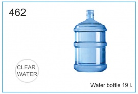 Water bottle 19 l.